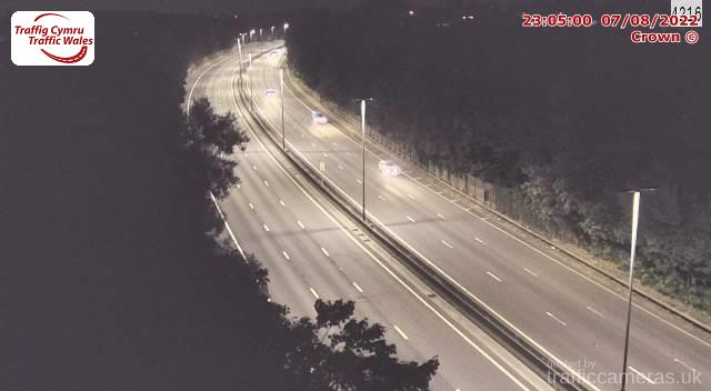 M4 - J25 St Julians East