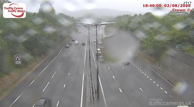M4 - J24 - 25 Caerleon East