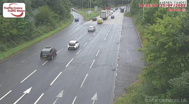M4 - J32 West of Coryton (W)