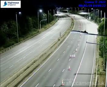 Latest CCTV Camera Feeds from the M5 Motorway - Traffic ...