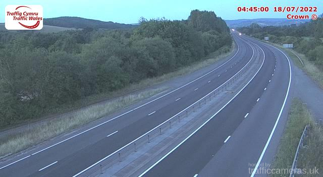 A449 - South of Raglan Junction