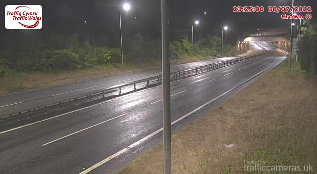 A55 - J18 Conwy Tunnel East (West)