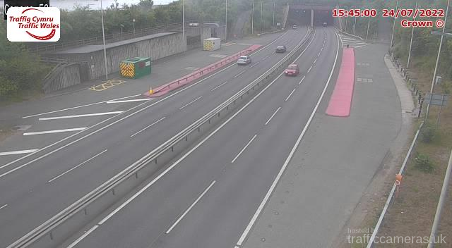A55 - J17 - 18 Conwy Tunnel East P (E)