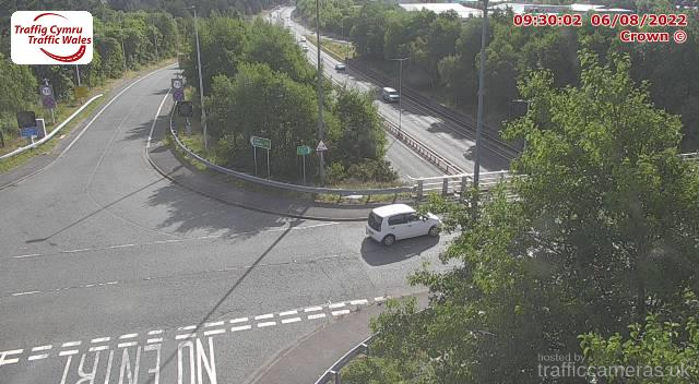 A55 - J17 Conwy Morfa Int (East)