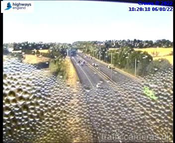 Latest CCTV Camera Feeds from the A14 Road - Traffic Cameras UK